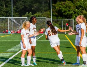 (September 16th, 2014) Soccer Girls Varsity: Centennial at Hammond