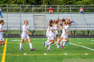 (September 16th, 2014) Soccer Girls JV: Centennial at Hammond