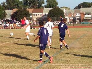 (September 23rd, 2014) Soccer Boys Varsity: Chesapeake (BC) at Patapsco